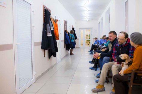 Внутри клиники